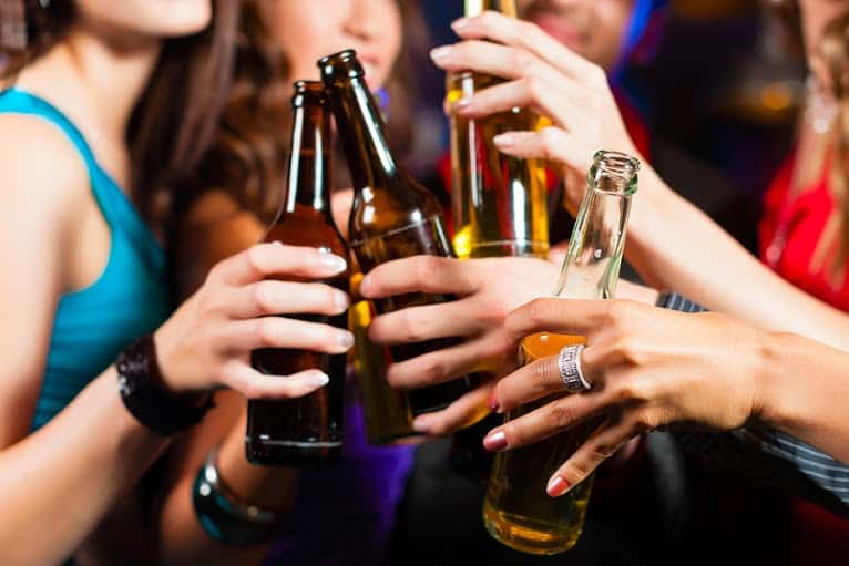 Teen drinkers and gpa